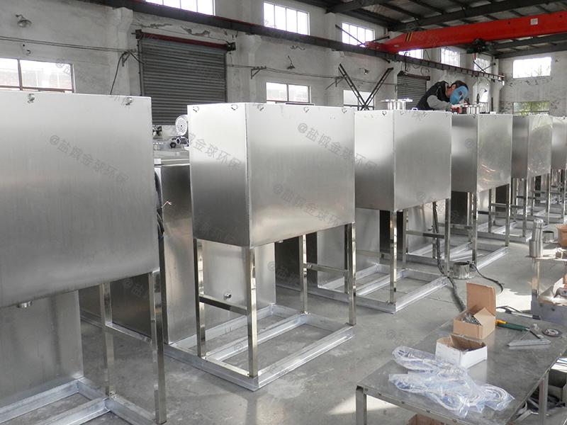 黔东南餐厅隔油提升一体化设备工程造价