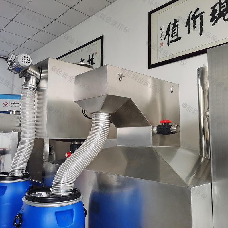 黔西南饭馆油脂分离机设计规范