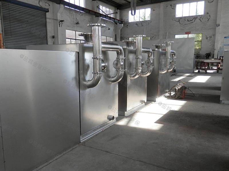 毕节餐饮油水分离装置做法和尺寸图