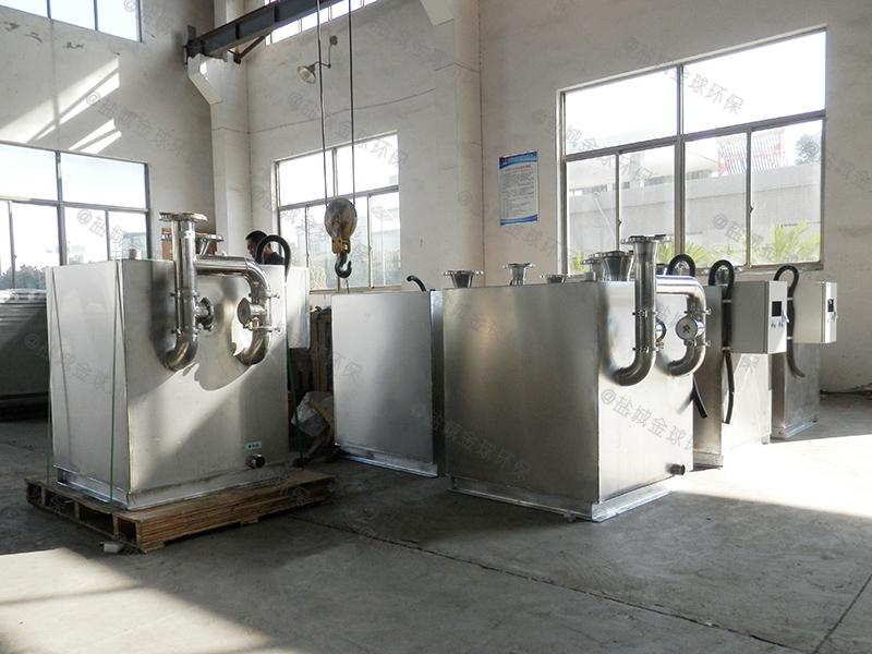 铜仁餐饮隔油处理设备cad图