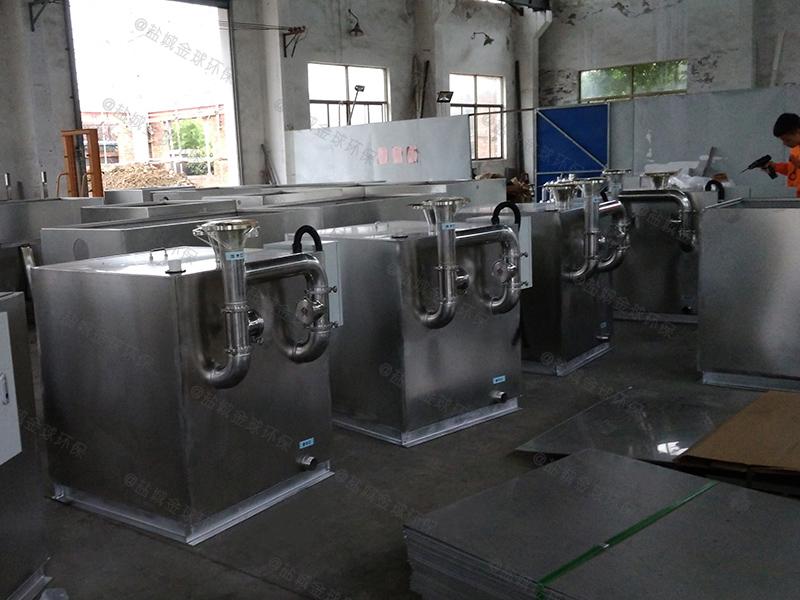 铜仁餐饮油水分离设备原理图