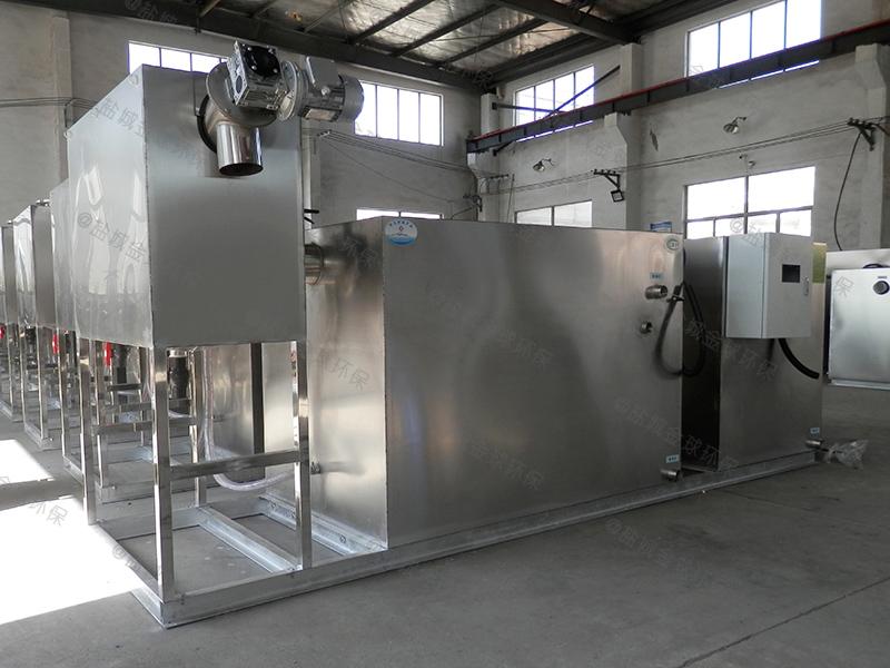 黔南商铺油水分离器施工
