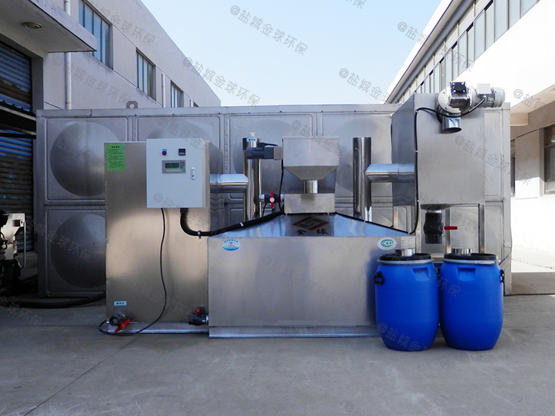 贵阳餐饮废水油水分离设备型号
