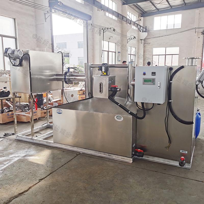 黔西南商业隔油隔渣设备设计标准