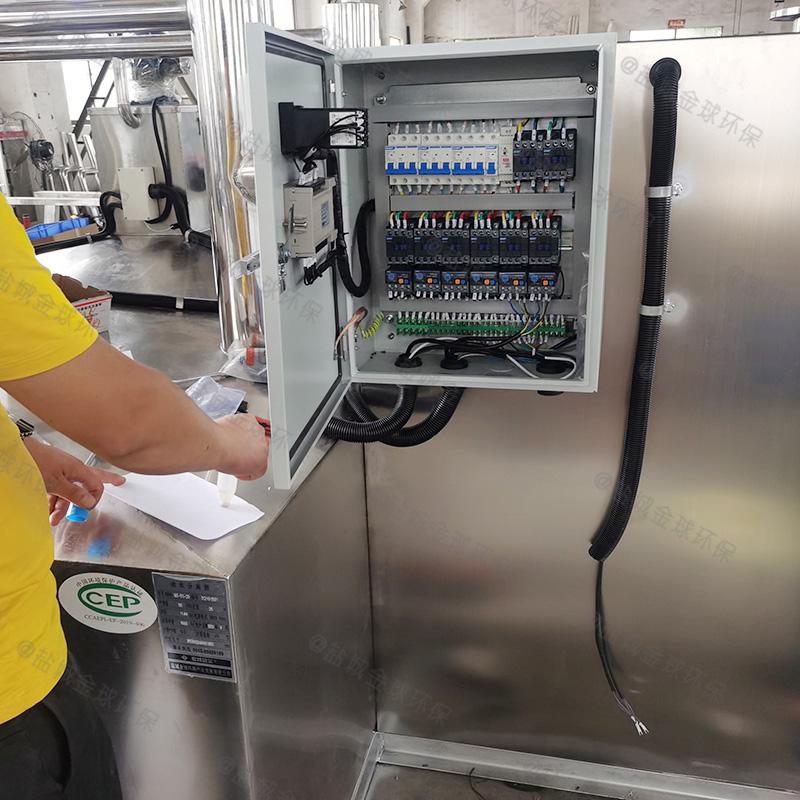 贵州餐饮隔油提升一体化设备施工图