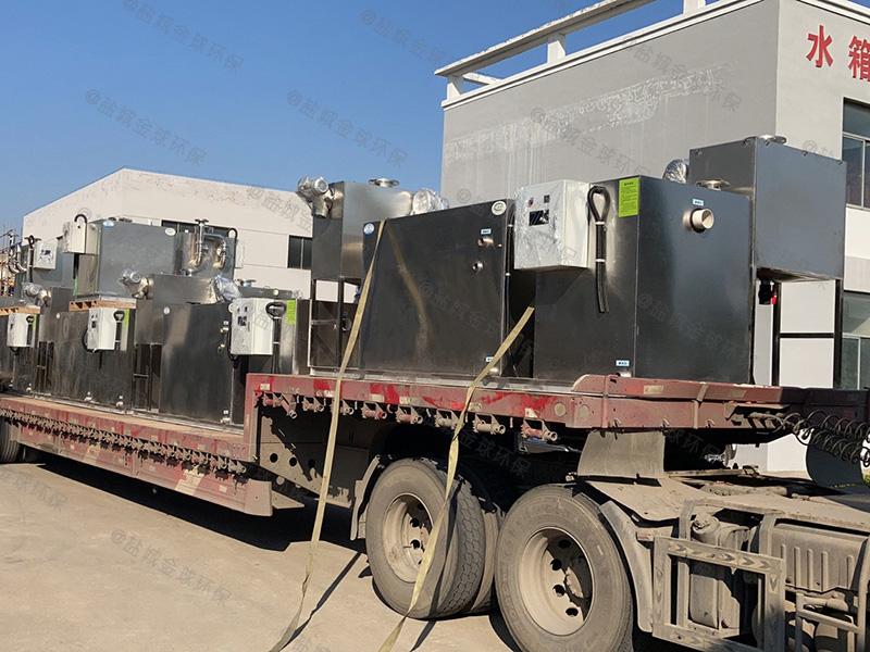 贵阳埋地隔油提升设备设计标准