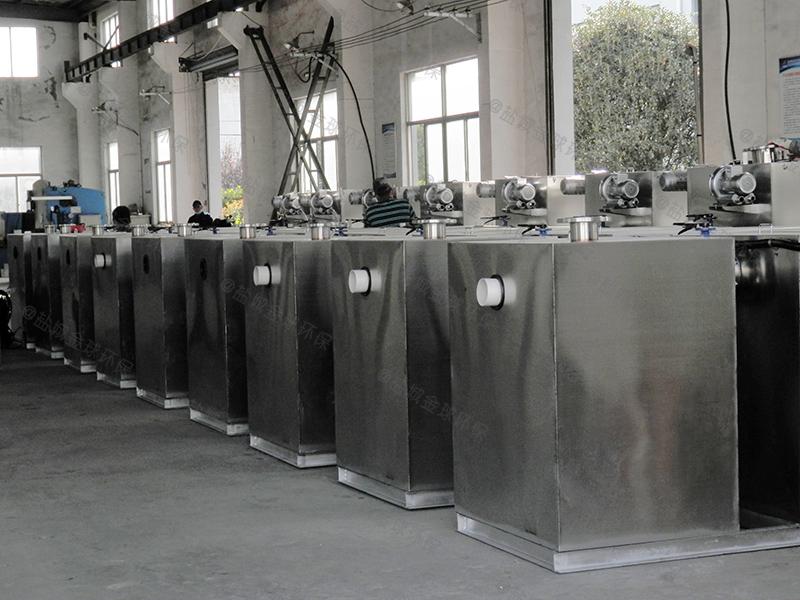 黔西南餐饮专用隔油提升一体化设备种类