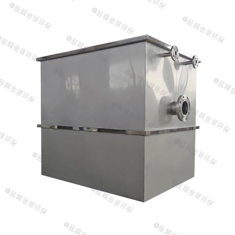 毕节餐饮电动隔油提升一体化设备施工