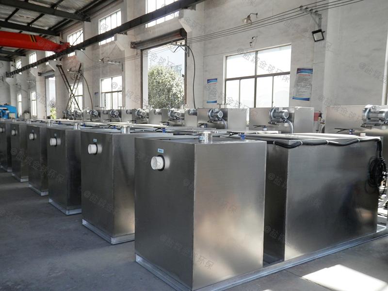 黔东南餐饮业隔油隔渣设备图