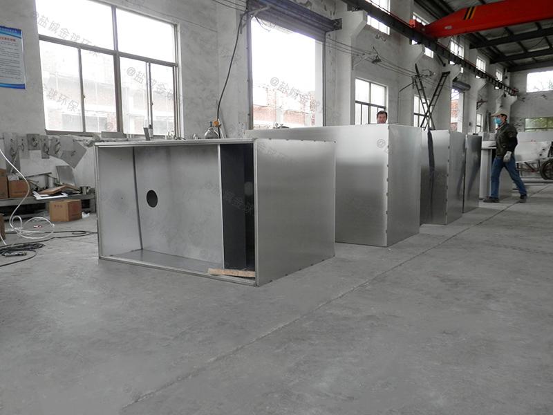 贵州公司食堂厨余油水渣分离设备去除率