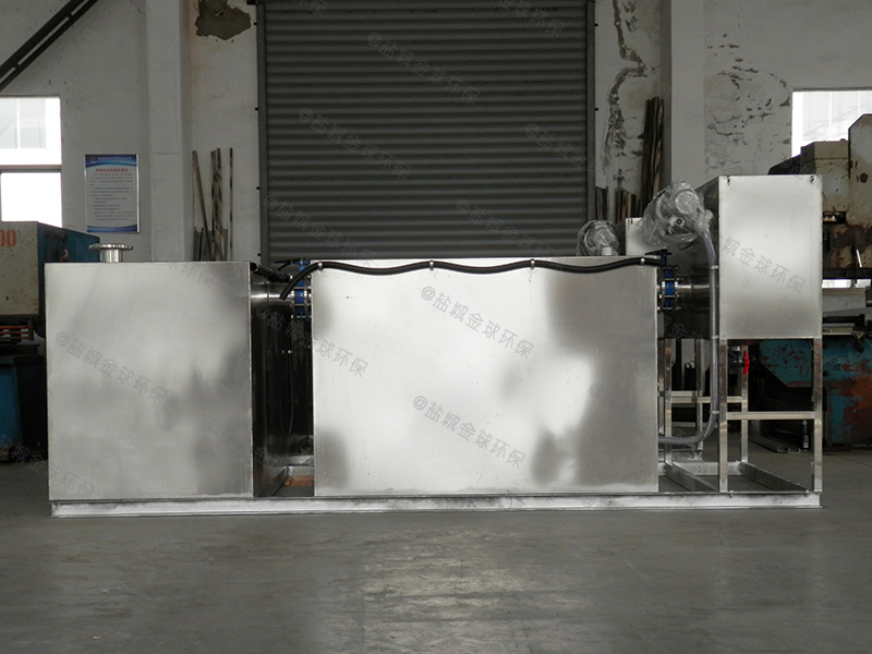 咸阳气浮型隔油提升设备做法与尺寸图