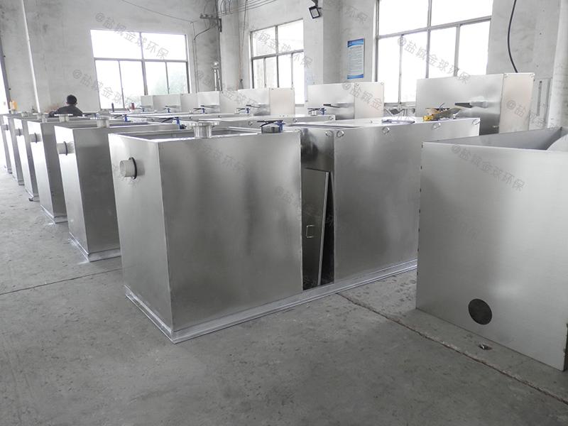 汉中多功能隔油器的结构