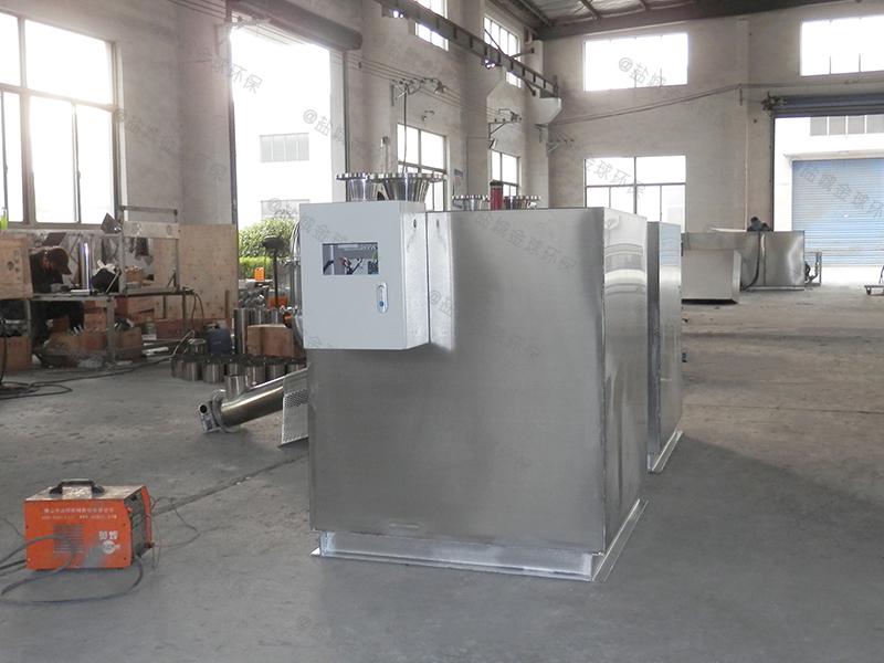榆林机械净化一体化隔油提升设备原理图解