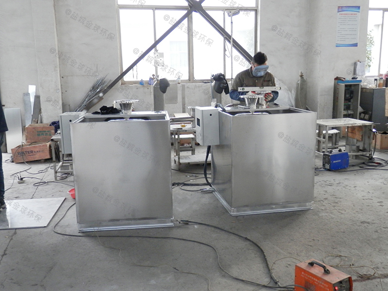 商洛一体化多功能隔油提升一体化设备厨房厂家