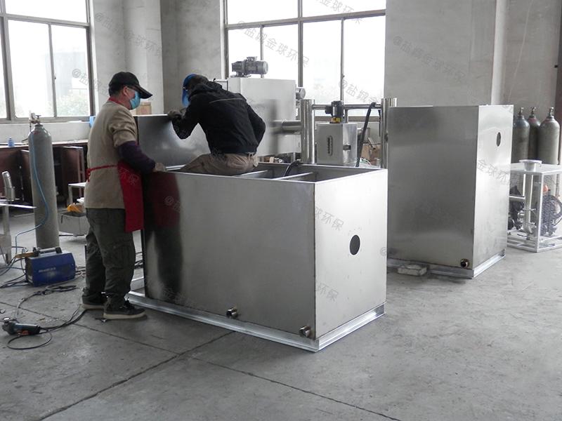 安康中型一体化隔油污水提升设备放水教程