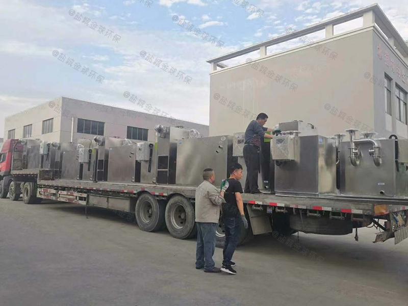 渭南大型隔油提升一体化设备规格尺寸