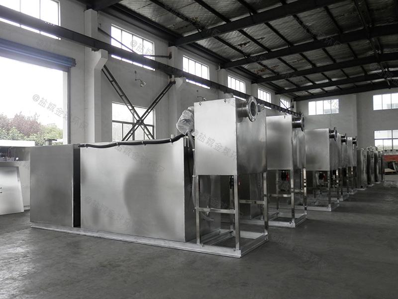 六盘水饭堂油水分离器处理能力