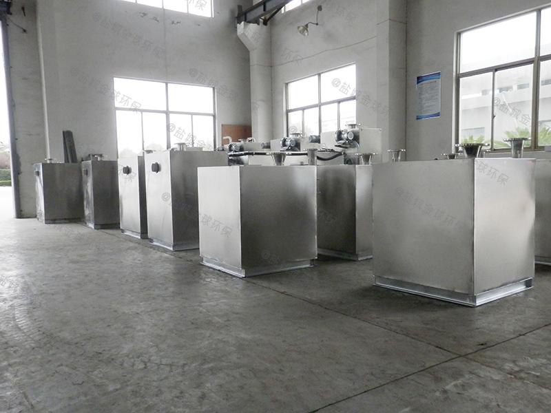 贵阳餐厅用隔油提升设备安装标准
