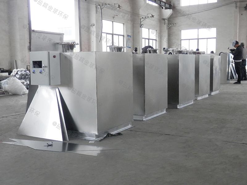 贵阳部队食堂隔油处理装置尺寸要求