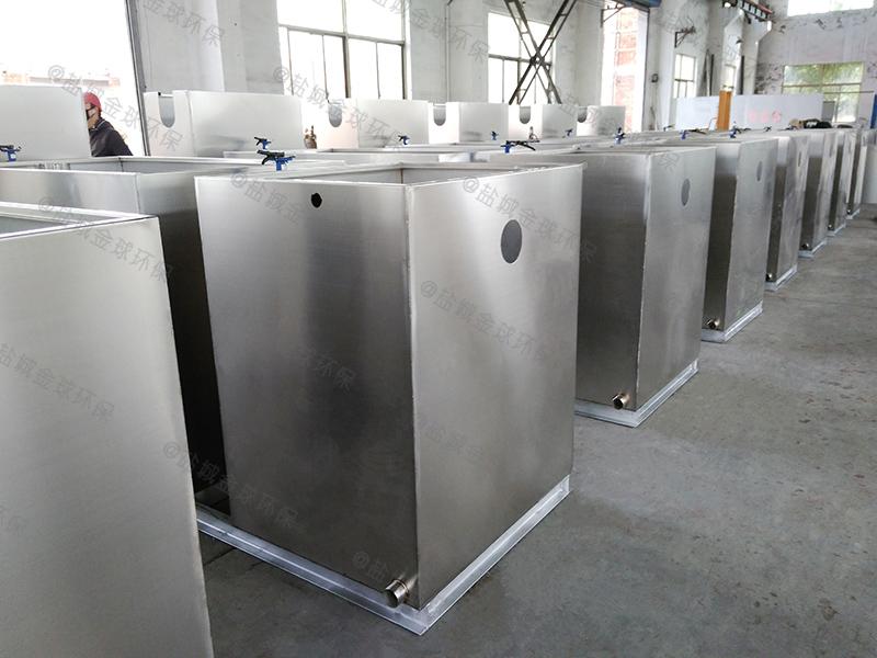 铜仁大饭店餐厨油水分离处理器安装规定