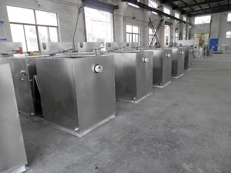 铜川传统酒店厨房下水道油水分离油脂生产成套设备