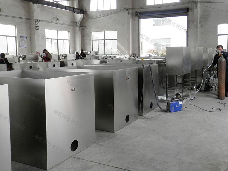 西安三级处理隔油器的做法