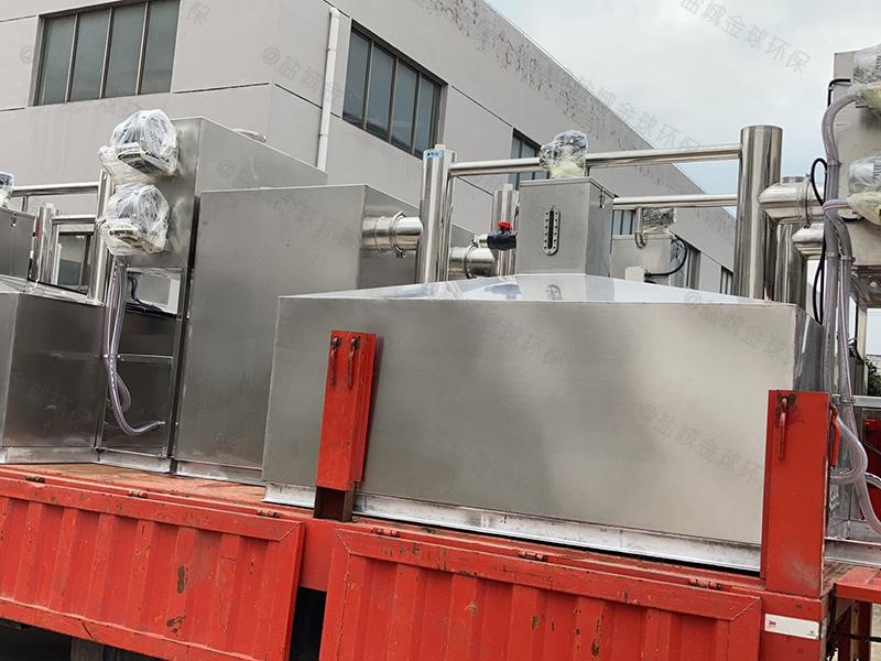 黔南工业园区餐厨油水分离处理器费用